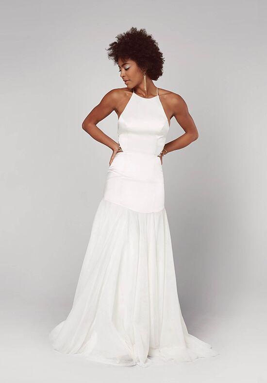 Mermaid Tulle Wedding Dress