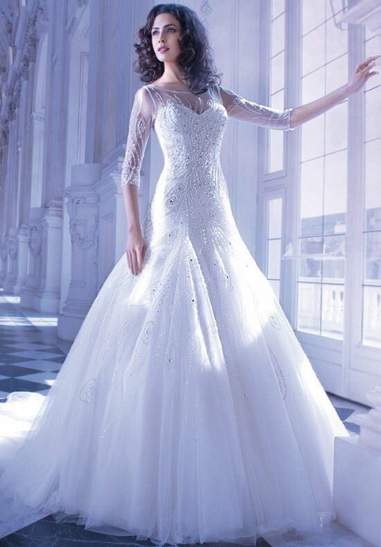 Demetrios 556 Mermaid Wedding Dress