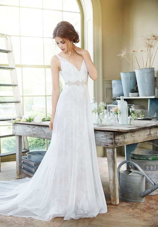 Tara Keely by Lazaro 2656 A-Line Wedding Dress