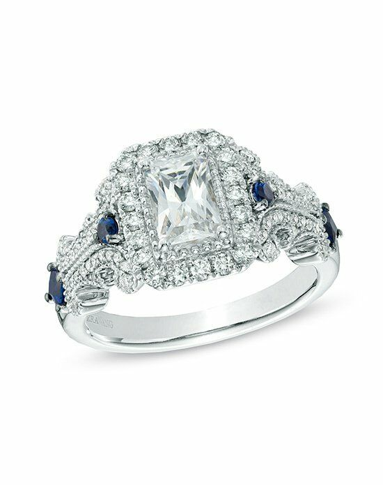 Vera Wang LOVE at Zales Vera Wang LOVE Collection 1 1 8 CT T W Emerald Cut