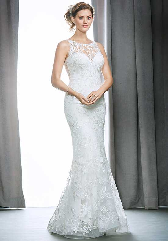 Kenneth Winston 1696 Sheath Wedding Dress