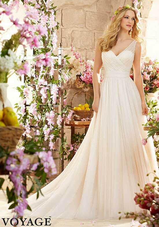 Morilee by Madeline Gardner/Voyage 6805 A-Line Wedding Dress