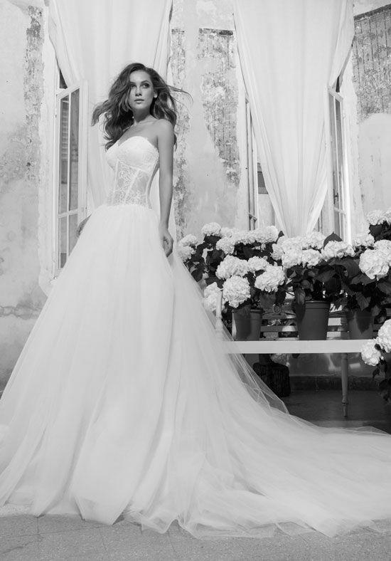 LOVE By Pnina Tornai For Kleinfeld 14414 Wedding Dress