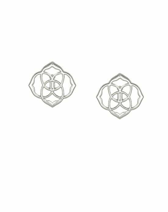 Kendra Scott Dira Stud Earrings in Silver Wedding Earring photo