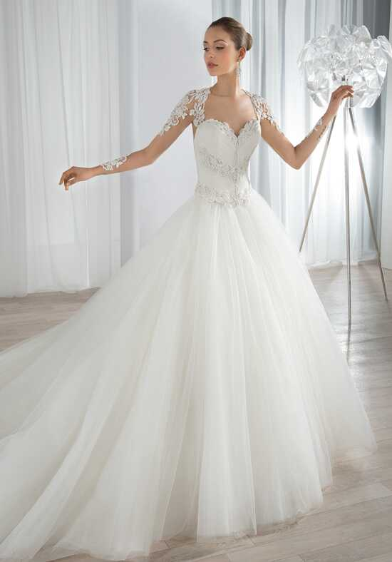 Demetrios 655 Ball Gown Wedding Dress