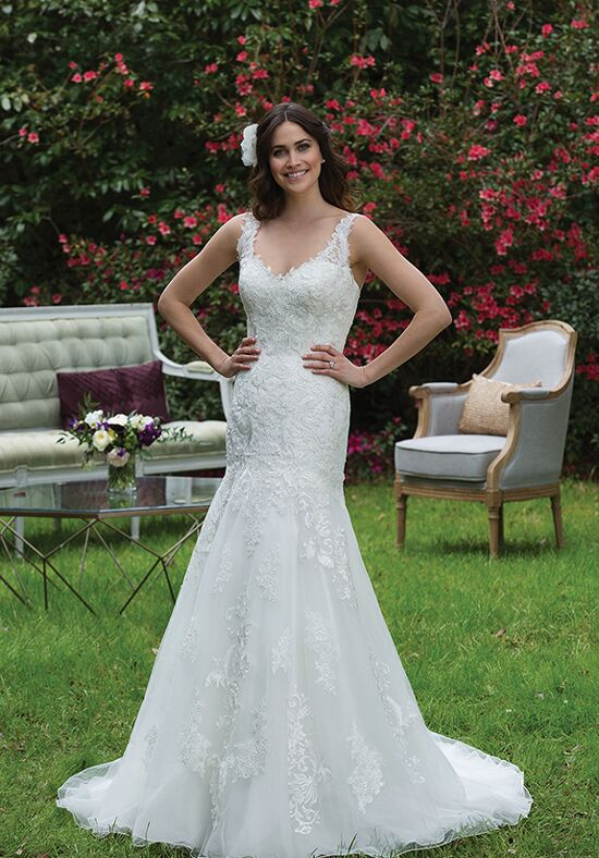 Sincerity Bridal 3955 A-Line Wedding Dress
