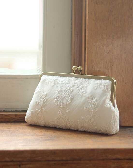 Davie & Chiyo | Clutch Collection Charlotte Clutch Ivory Clutches + Handbag