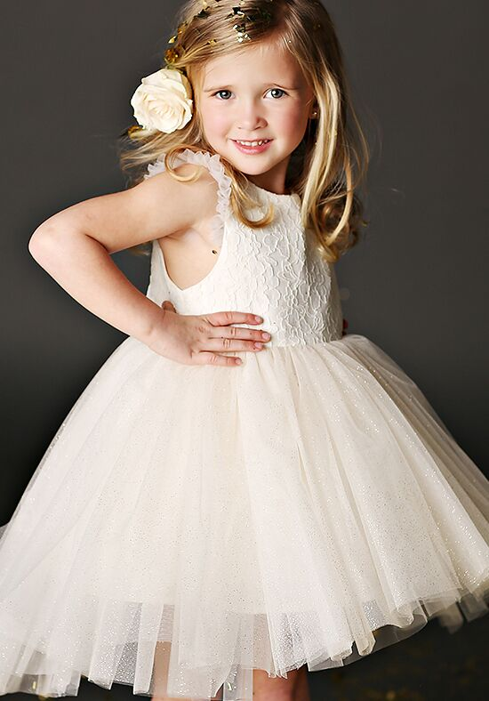 FATTIEPIE Sara Ivory Flower Girl Dress