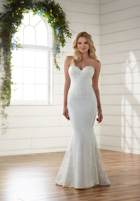 Essense of Australia D2203 Sheath Wedding Dress