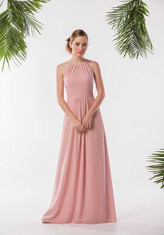 JASMINE P186005 Halter Bridesmaid Dress