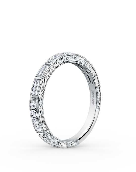 Kirk Kara Charlotte Collection K170-B White Gold Wedding Ring