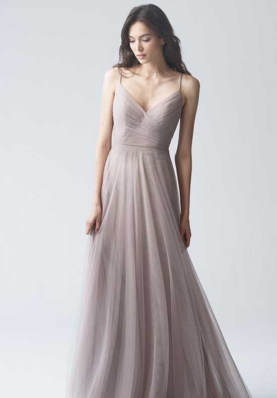 Jenny Yoo Collection (Maids) Brielle {non applique} #1756NB V-Neck Bridesmaid Dress