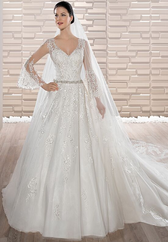 Demetrios 681 Ball Gown Wedding Dress