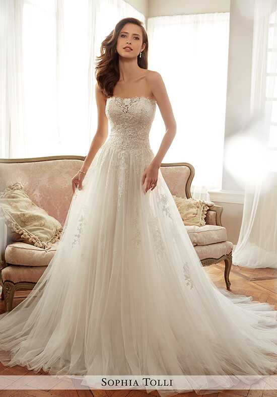 Sophia Tolli Y11706 Harriet A-Line Wedding Dress