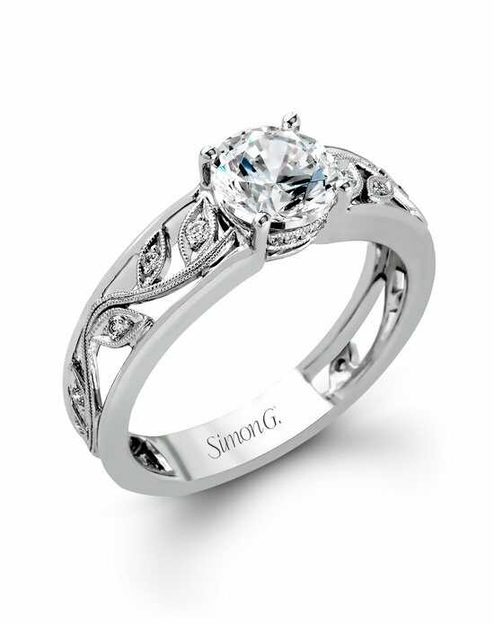 Simon G. Jewelry MR2100 Engagement Ring photo