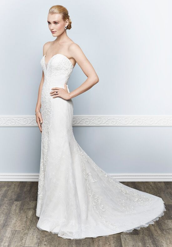 Kenneth Winston 1651 Sheath Wedding Dress