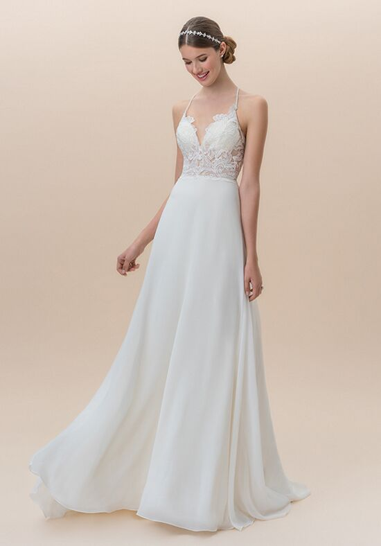A Line Lace Wedding Dresses