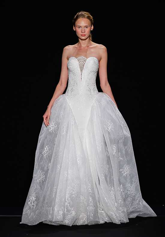 Mark Zunino for Kleinfeld 141 Ball Gown Wedding Dress