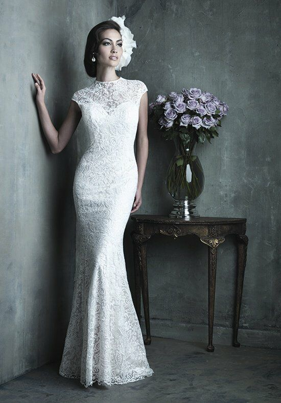 Allure Couture C289 Sheath Wedding Dress