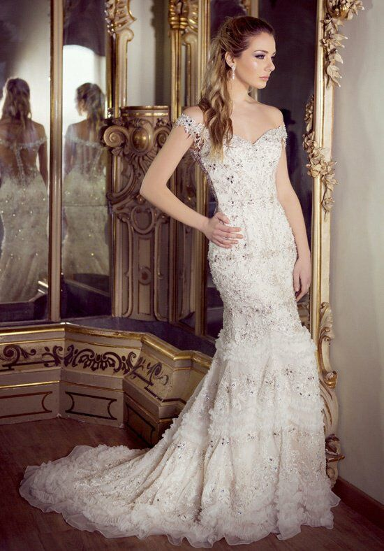 Ysa Makino KYM65 Sheath Wedding Dress