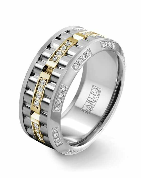 Carlex CX3-0025YWW Gold Wedding Ring