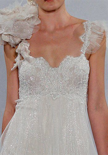Pnina Tornai for Kleinfeld 4138 Sheath Wedding Dress