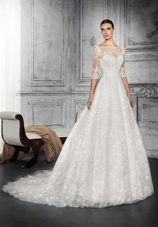 Demetrios 735 A-Line Wedding Dress