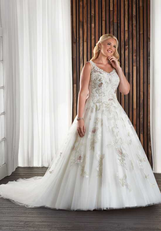 Unforgettable by Bonny Bridal 1715 Ball Gown Wedding Dress