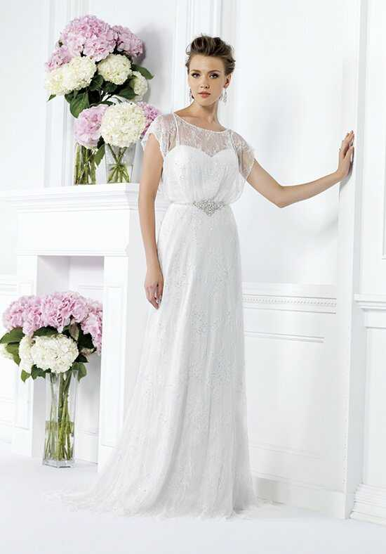 Jasmine Collection F161020 Sheath Wedding Dress
