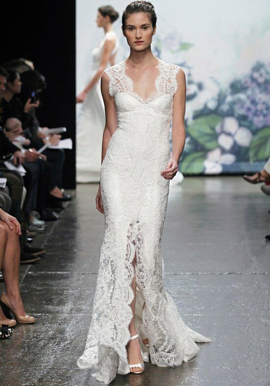 Monique Lhuillier Mila Sheath Wedding Dress