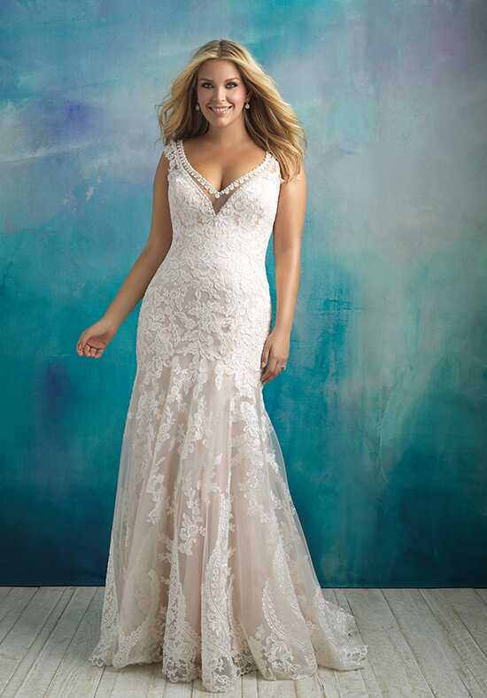 Allure Bridals W411 A-Line Wedding Dress