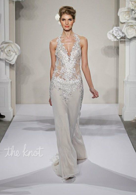 Pnina Tornai for Kleinfeld 4194 Sheath Wedding Dress