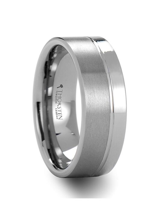 Mens Tungsten Wedding Bands W238-SOG Tungsten Wedding Ring