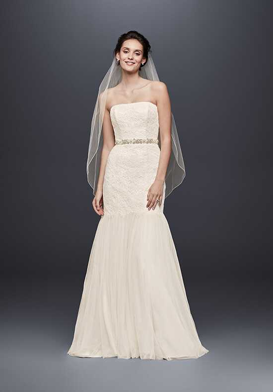 David's Bridal Galina Style KP3765 Mermaid Wedding Dress