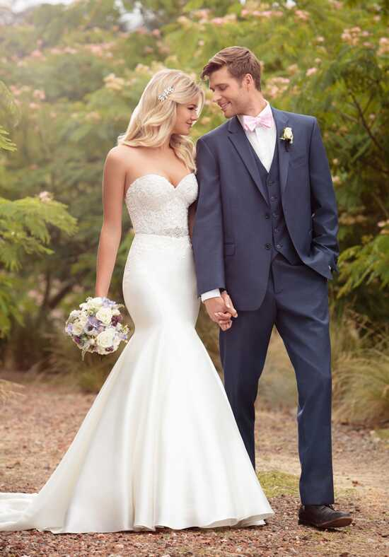 Essense of Australia D2202 Mermaid Wedding Dress