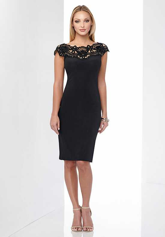 Social Occasions by Mon Cheri 218814 Black Mother Of The Bride Dress
