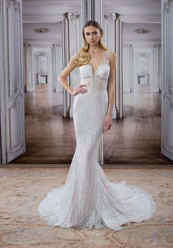 LOVE by Pnina Tornai for Kleinfeld 14502 Mermaid Wedding Dress