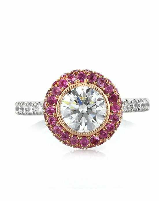 Mark Broumand Unique Round Cut Engagement Ring