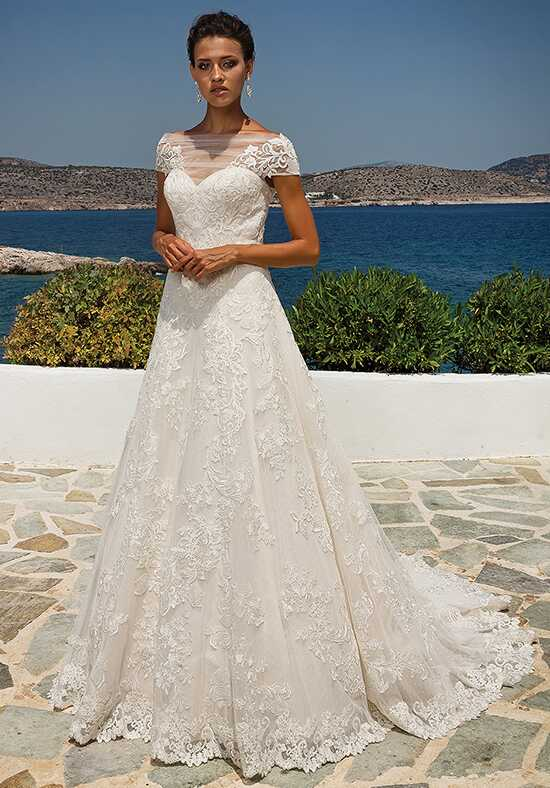 Justin Alexander 8955 A-Line Wedding Dress