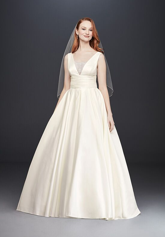David's Bridal David's Bridal Collection Style V3848 Ball Gown Wedding Dress
