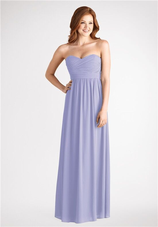 Donna Morgan Collection Stephanie Iris Sweetheart Bridesmaid Dress