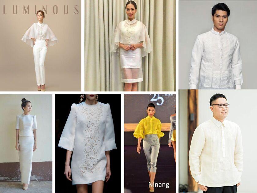 Principal Wedding Sponsor Gowns: Corinne Gayle Zuñiga And Don Christian Cerdenia's Wedding