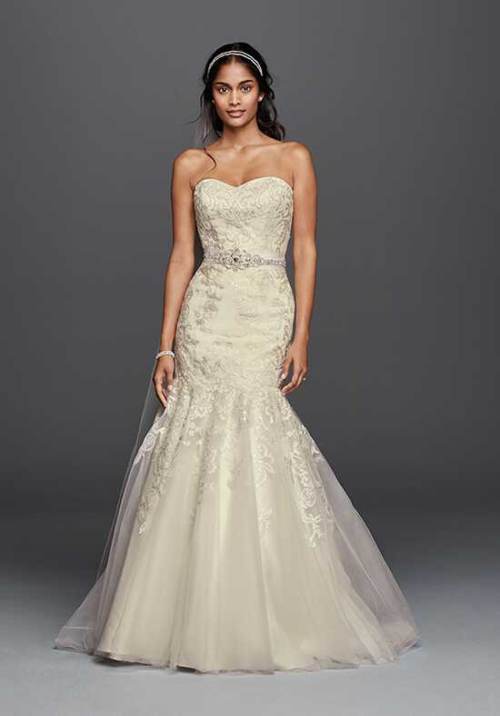 David's Bridal Jewel Style WG3800 Mermaid Wedding Dress