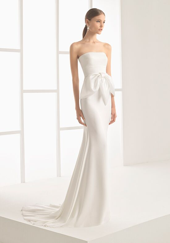 Rosa Clará Nicole Sheath Wedding Dress