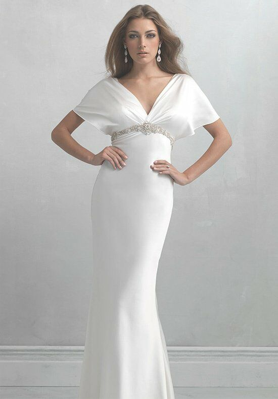 Madison James MJ16 Sheath Wedding Dress