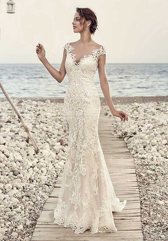 Eddy K Aires Sheath Wedding Dress
