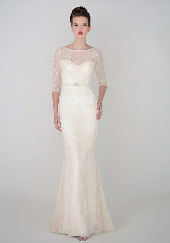"Eugenia ""Anastasia"" Style # 3929 Sheath Wedding Dress"