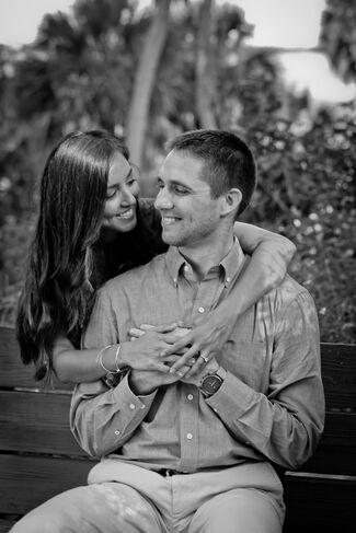 Vanessa Escobar And Mitchell Johnson Wedding Photo 1