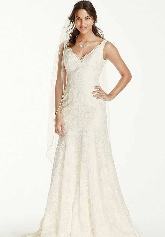David's Bridal Jewel Style WG3757 Mermaid Wedding Dress