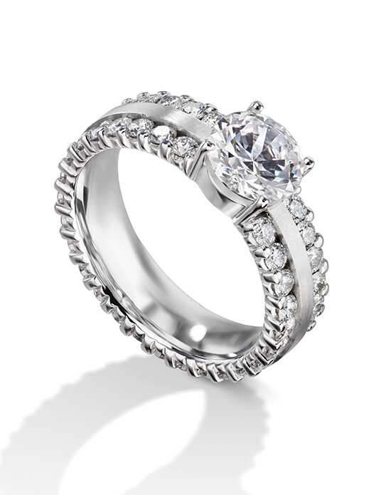 Furrer Jacot Engagement Rings Classic Round Cut Engagement Ring